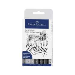Arte - Faber-Castell Set de Rotuladores Pitt Artist Lettering