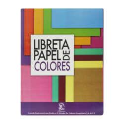 Artículos Escolares y de Oficina - Conquistador Libreta de Papel Bond de Colores - T/Carta