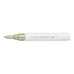 Artículo Escolares y de Oficina - Pilot Marcador Permanente PINTOR F 1.0 mm - Dorado