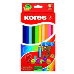 Artículos Escolares - Kores colores Jumbo