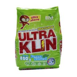 Bolsa de Detergente Ultraklin - 850 gramos - Librería en El Salvador