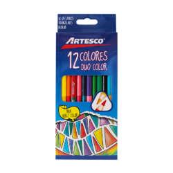 Artículos Escolares - Artesco Lápices de colores Triangulares - 12/24 unidades