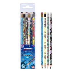 Artículos Escolares - Artesco Lápices de grafito Trend HB