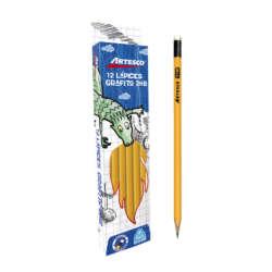 Artículos Escolares y de Oficina - Artesco Lápices de grafito Triangular Amarillo 2HB