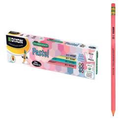 Artículos Escolares y de Oficina - Dixon Lápiz de Grafito Triconderoga Hexagonal Pastel