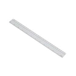 Artículos de Oficina - Fast Regla de Aluminio - 30 cms