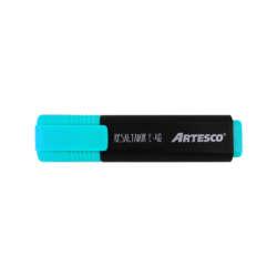 Artículos Escolares y de Oficina - Artesco Resaltadores fluorescentes E-48 - Celeste