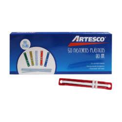 Artículos Escolares y de Oficina - Artesco Caja de Fastener Plásticos - 50 unidades