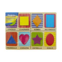 Artículos Escolares - Merletto Rompecabezas Figuras Geométricas