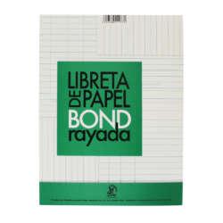 Artículos de Papelería y Cuadernos - Conquistador Libreta Rayada Corriente - T/Carta