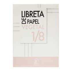 Artículos de Papelería y Cuadernos - Conquistador Libreta de Papel Vegetal 1/8