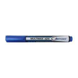 Artículos Escolares y de Oficina - Artesco Marcador Permanente Multimax A24 - Azul