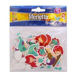 Artículos Escolares - Merletto Figuras de Foamy - Sirenas