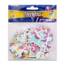 Artículos Escolares - Merletto Figuras de Foamy - Unicornios