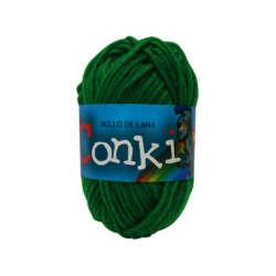 Arte - Conki Bollo de Lana - Verde Oscuro