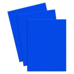 Artículos de Papelería - Conki Hoja de Foamy T/Carta - Azul Cyan (Bandera)