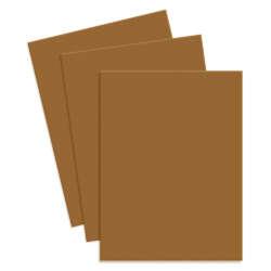 Artículos de Papelería - Conki Hoja de Foamy T/Carta - Café Claro