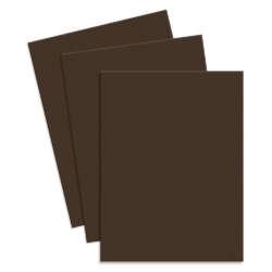 Artículos de Papelería - Conki Hoja de Foamy T/Carta - Café Oscuro