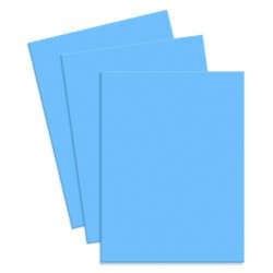 Artículos de Papelería - Conki Hoja de Foamy T/Carta - Azul Cielo (Celeste)
