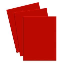 Artículos de Papelería - Conki Hoja de Foamy T/Carta - Rojo Intenso
