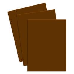 Artículos de Papelería - Conki Hoja de Foamy T/Carta - Tabaco (Café Claro)