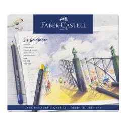 Arte - Faber-Castell Lapices de Colores Goldfaber - 24 unidades